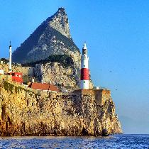 Gibraltar with Guide and Transportation