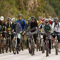 Mountain Bike tour in Arkadi-Melidoni (Barbecue Included)