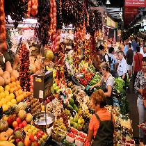 Barcelona Foodies & Markets (Am) with Tastings and Official Guide