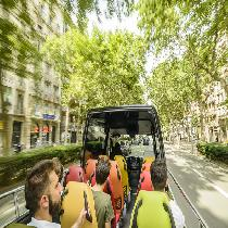 Gaudi Tour On A Luxury Open Top Minibus With Access To Sagrada Familia And Park Guell