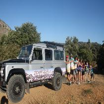 Land rover Safari from South Crete with Lunch & Transfer