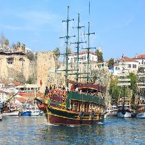 Lazy Day Cruise from Antalya, Belek with meal, escort and transportation