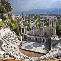 Plovdiv Day Trip from Sofia with Transportation, walking tour and Official guide