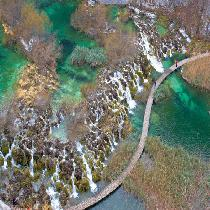 Plitvice Lakes National Park with Guide, Entrance Fee & Transfer