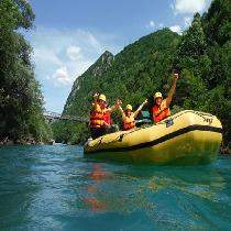 Rafting Tour On The River Tara In Montenegro with Lunch, Guide & Transportation