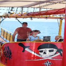 Black Rose Pirat Cruise from Hersonissos Crete