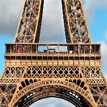 Eiffel Tower Climbing