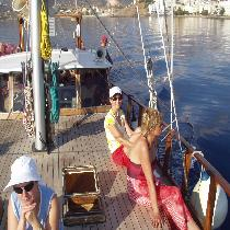 Magic Sailing Day in the Mirabello bay Crete