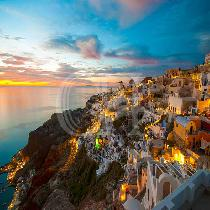 Sunset In Oia & Traditional Villages with Transfer