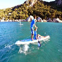 Paddle board Blue lagoon tour with instructor