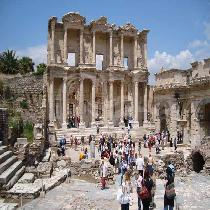 Visit Ephesus in Turkey from Samos
