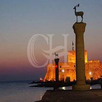 Rhodes by Night: Laterna with Meal & Transfer