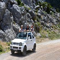 Crete Mainland 4x4 Self-Drive Safari with Lunch in Kastelli