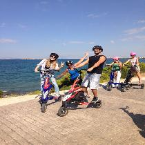 Athens Riviera Tour By Electric Trikke