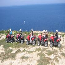 Half Day Quad Tour with Transportation & Boat