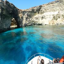 Comino and Blue Lagoon Cruise with Transportation and salad Buffet