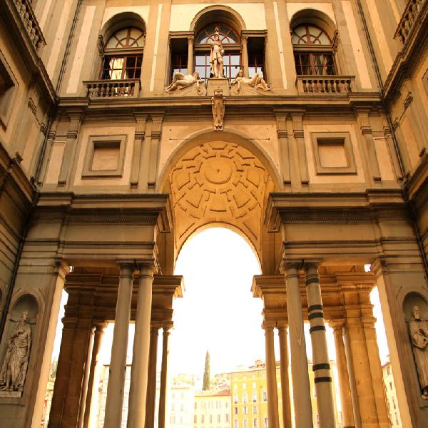 Italian Florence: All Florence Accademia And Uffizi Galleries With Lunc-Florence