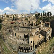 Herculaneum with Official Guide and Transportation