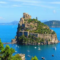 Ischia with Ferry Trip, Official Guide and Transportation