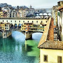 Florence Grand Panoramic Tour and Accademia Gallery Tour with Escort, Entrance Fees and Transportation
