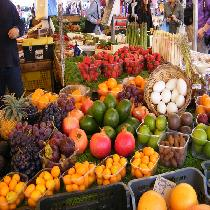 Rome Farmer's Market Food Tour Discovering Organic Food and the Art of Pairing