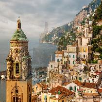 Unesco Jewels: One-Day Tour of Positano and Amalfi Coast by high-speed train