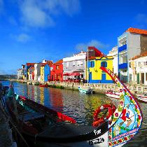 Aveiro Tour Half Day with Transportation, official Guide and Cruise Private
