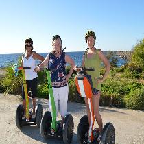 Segway Tours Early Birds with Escort and Transportation