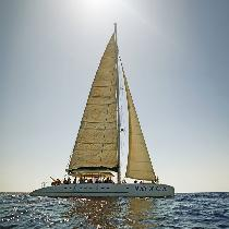 Morning Chill out Catamaran Cruise  with Lunch, Snorkel gear and Transportation