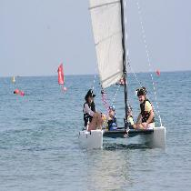 Sailing lesson 1 hour