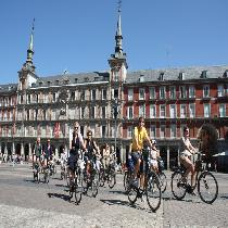 Madrid Bike Tour with Escort