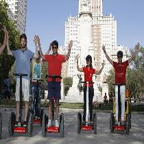 Madrid Segway Tour 1 1/2 Hour with Escort and Equipment