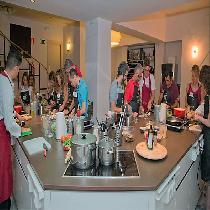 Madrid Paella, Tortilla & Sangria Cooking Experience with Lunch, Wine and Spanish Chef