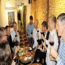 Madrid Wine Tasting & Iberian Ham Tapas Tour with Local Guide