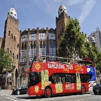 Barcelona By High Speed Train - Full Day with Hop On Hop off tickets