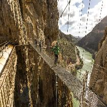 Caminito Del Rey with Guided Tour, Entrance Fees and Transportation